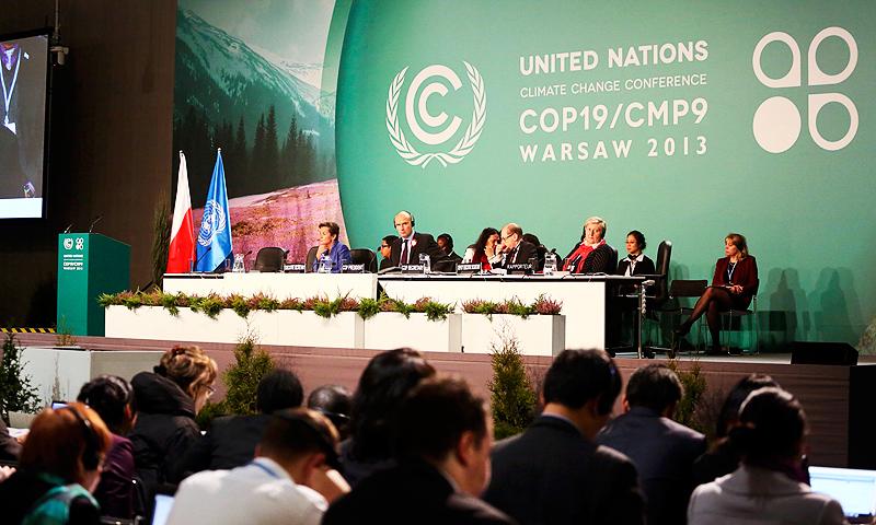 La dernière convention climat en date (2013), à Varsovie | Wikipedia