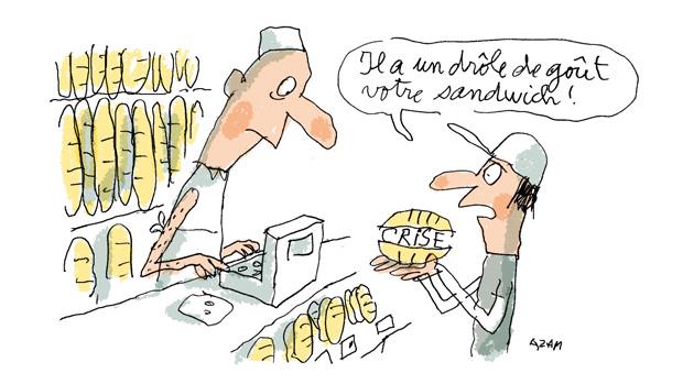 La crise jusque dans ma boulangerie !! :s | http://1jour1actu.com/