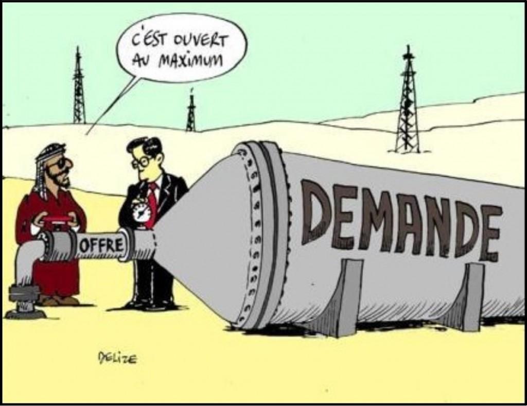 Voilà un exemple où la loi de l'offre et de la demande nous dit que les prix vont être... élevés ! Ce n'est pas un hasard si le Qatar rachète les clubs de foot français ;) | www.quiperdgagne.fr