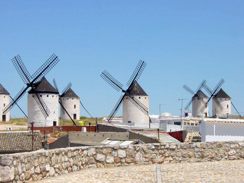 L'éolien, une nouvelle technologie qui date de plusieurs siècles... | Campo_de_Criptana_Molinos_de_Viento_1