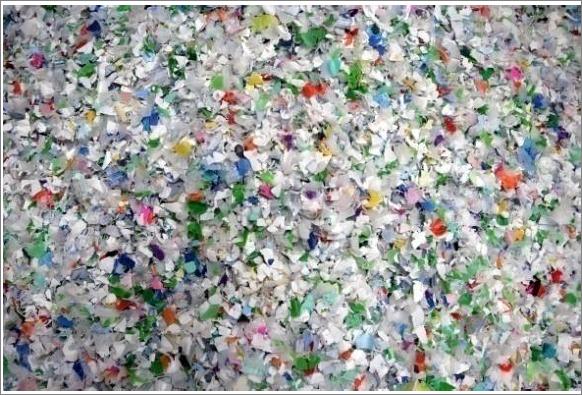 Voilà le matériau de base d'une chaise de jardin recyclée |DTU Environment